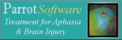Aphasia and Brain Injury treatment using Parrot Software
